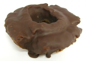 Chocolate Sour Cream Cake Donut 005