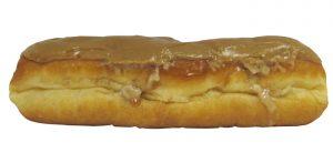 Custard Filled Caramel Iced Long John 001