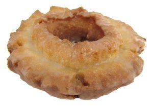 Glazed Sour Cream Cake Donut