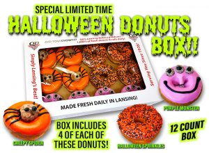 Limited Time Halloween Donut Box