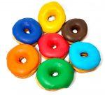 Custom Colored Donuts & Cookies